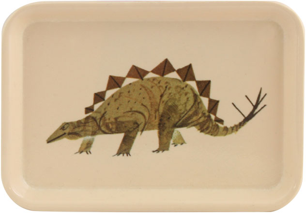 Harper + Oldham Stegosaurus Tray - Funny Little Trays - Patterns & Collections