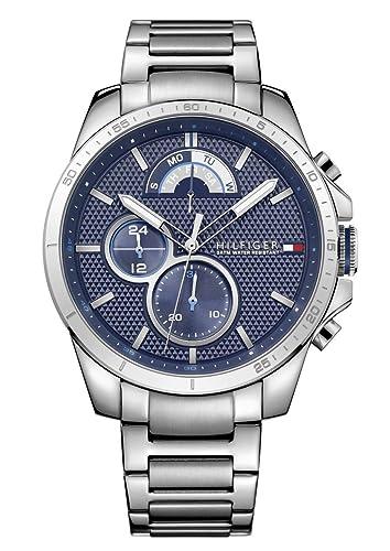 492e3fdbe535 Reloj para hombre Tommy Hilfiger 1791348.  Amazon.es  Relojes