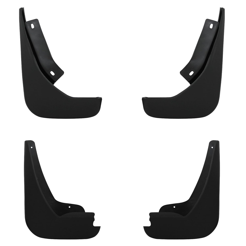 4x [pro.tec] Passform Schmutzfä nger (fü r vorne und hinten) Splitterschutz / Passgenau / Nachrü st - Set / Fahrzeug spezifisch