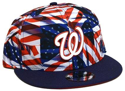 51c89976c Amazon.com   New Era Mens Team Custom Snapback Hats   Sports   Outdoors