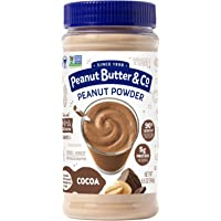 Peanut Butter & Co. Cocoa Peanut Powder, Non-GMO Project Verified, Gluten Free, Vegan, 6.5 oz Jar