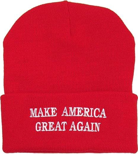 57855669782 Amazon.com  Make America Great Again Hat Beanie