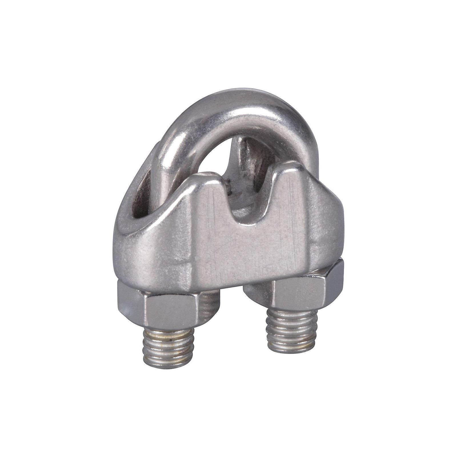 National Hardware N348-896 25 Pack V4230 3/16in. Wire Cable Clamps, Stainless Steel