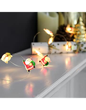 festive lights micro battery fairy lights on silver wire 20 led