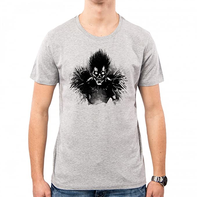 PacDesign Camiseta Hombre Bored Shinigami Death Note Geek Funny TV Series Film Ddjvigo Dj0025a: Amazon.es: Ropa y accesorios