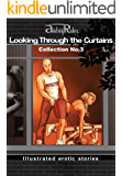 """""""Looking Through the Curtains"""" series of 200 erotic stories. Collection  No. 3 (Stories 51-75): Illustrated sex stories that will wake up your erotic fantasies"""