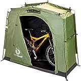 The YardStash III: Space Saving Outdoor Bike