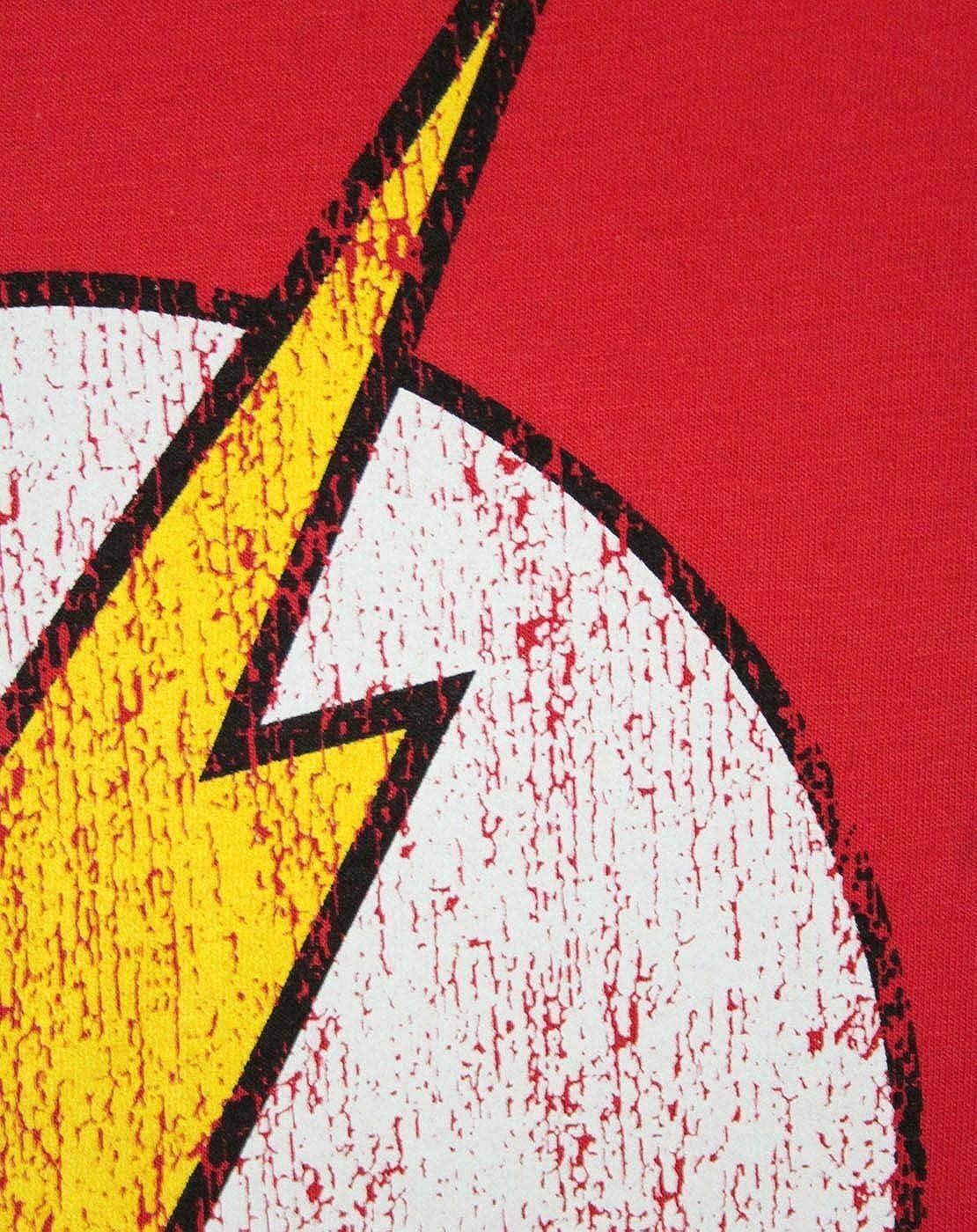 Flash Distressed Logo Boys T-Shirt