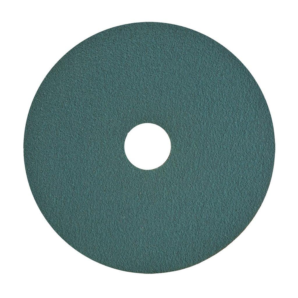 VSM 91604 Resin Fiber Disc, Blue, Coarse Grade, Fiber Backing, Zirconia, 36 Grit, 7'' X 7/8'' Arbor Hole, Pack of 50