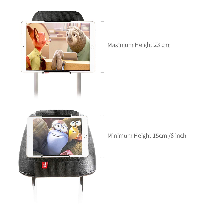 tablettes Samsung iPad Air 11 tablettes Huawei et Autres tablettes Android avec//sans /étui Couleur : Noir iPad iPad Mini Hikig Support appuie-t/ête pour tablettes 7 iPad Pro