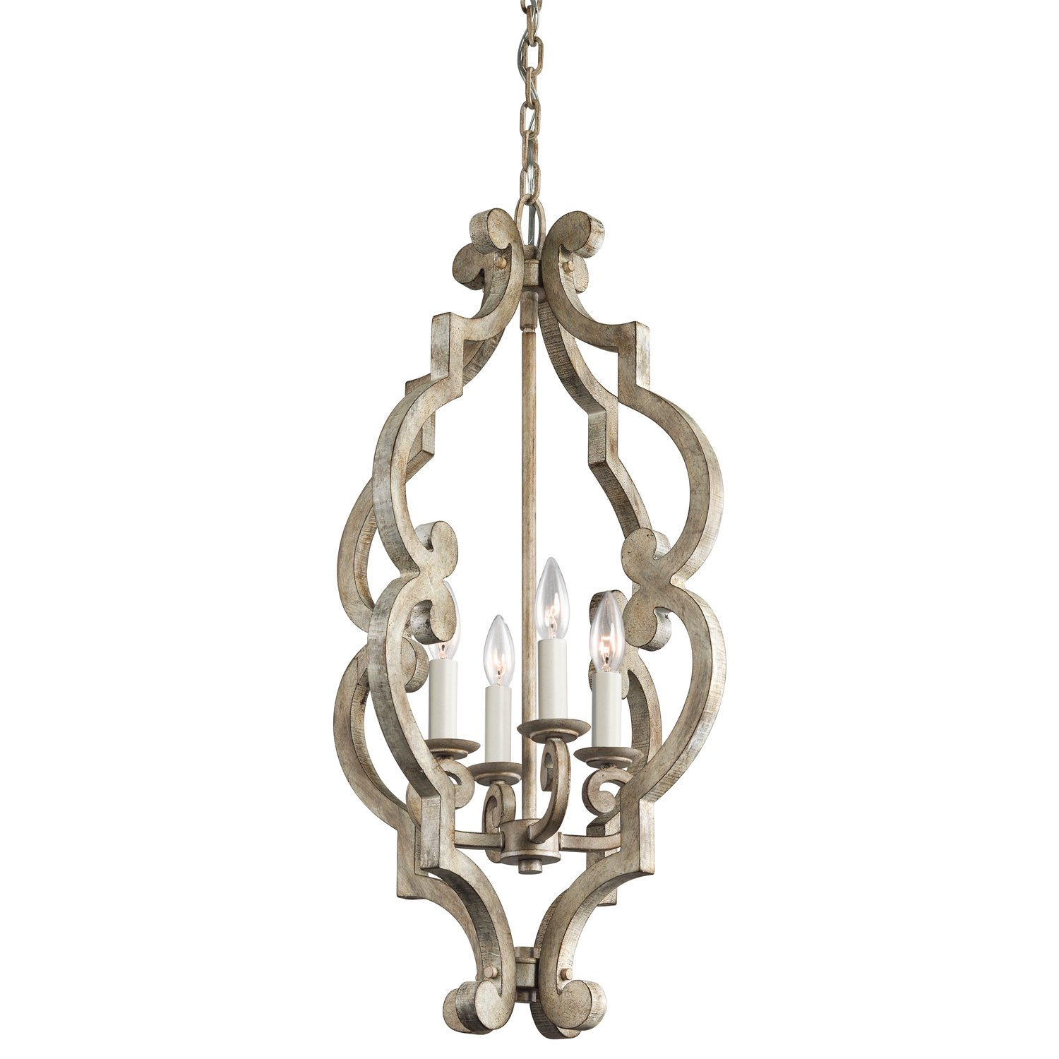 Kichler DAW Four Light Foyer Pendant Chandeliers Amazon