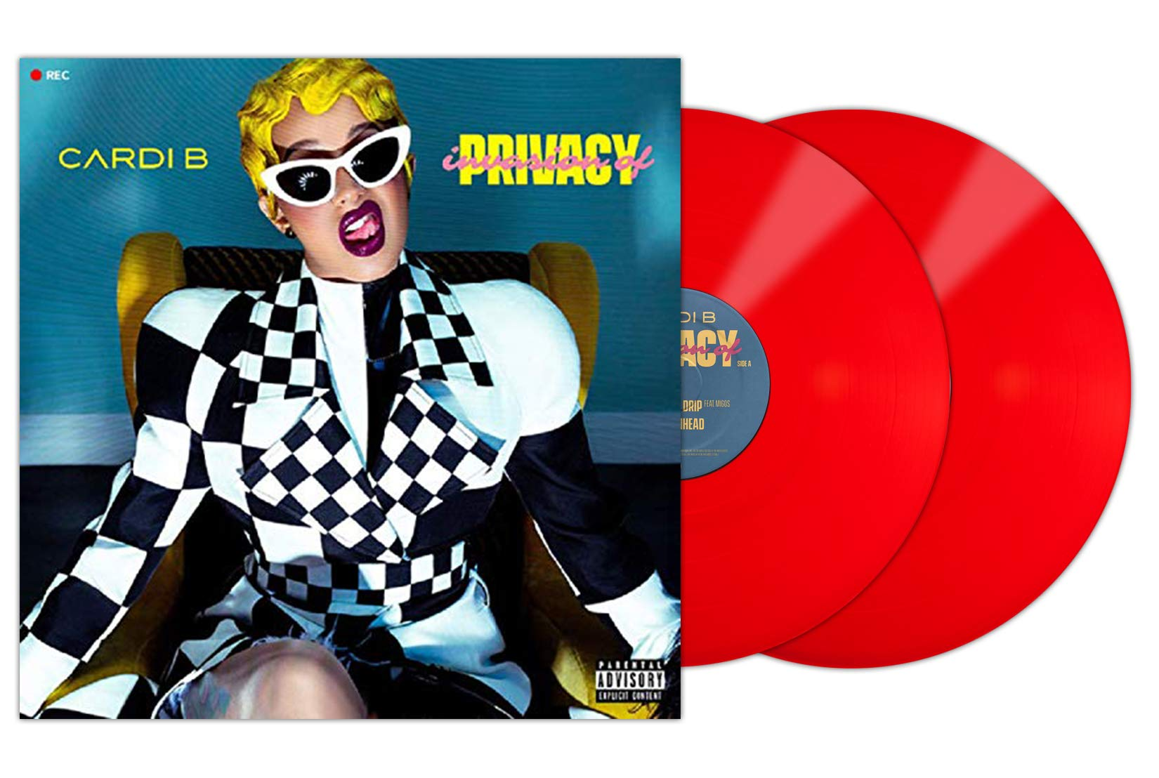 Invasion Of Privacy - 2×Vinyl, LP, Limited Edition, Red - Exclusive by KSR