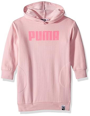 9704134efd75 Puma Girls  Fleece Hoodie Dress  Amazon.in  Clothing   Accessories