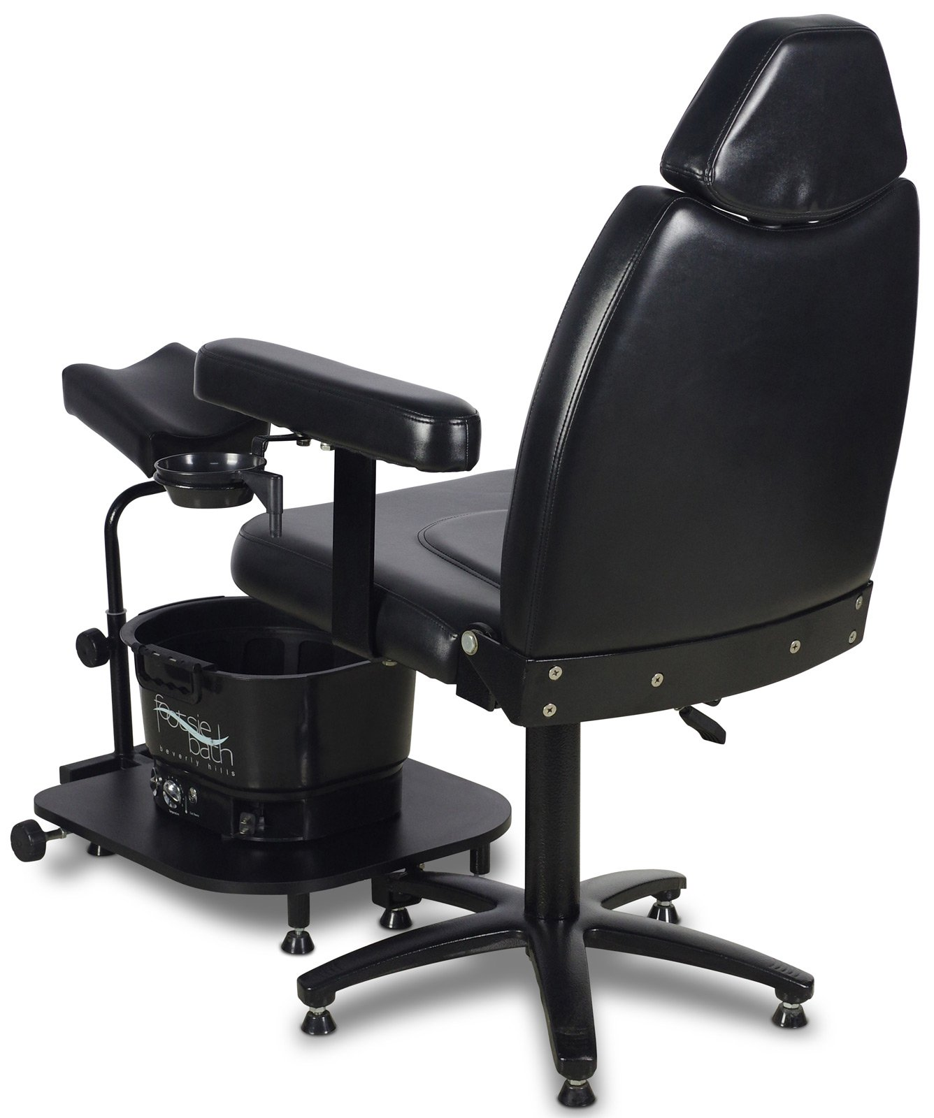 Icarus ''Zenith'' Black Pedicure Foot Spa Station Chair by Icarus (Image #3)