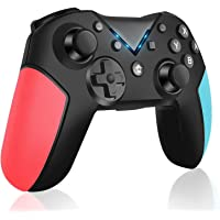 Controlador Inalámbrico para Nintendo Switch, Switch Console Controlador Bluetooth con Turbo, Eje de Giroscopio y…