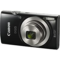 Canon IXUS 185 Digital Camera(IXUS185BK) 2.7 Inch display,Black (Australian warranty)