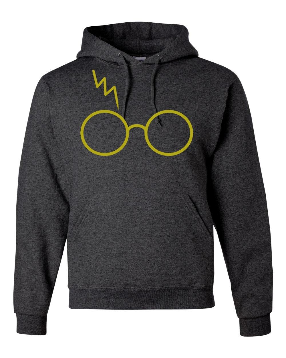 Harry Potter Glasses Scar Unisex Hooded Sweatshirt Fashion Hoodie