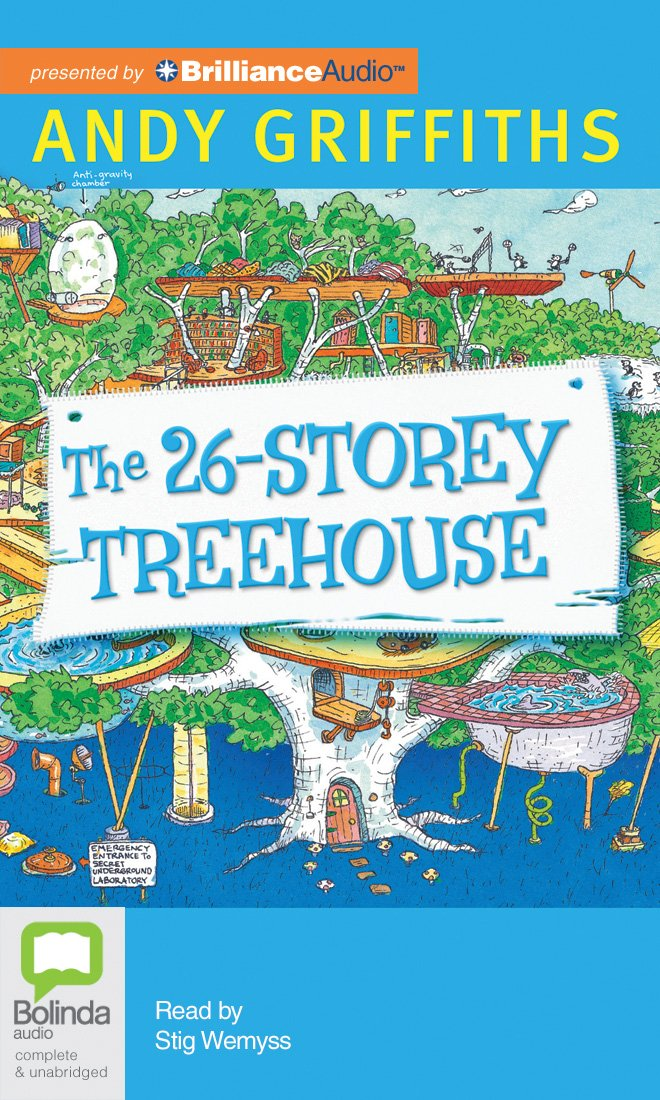 Andy Griffiths Treehouse Part - 45: The 26-Storey Treehouse: Andy Griffiths, Stig Wemyss: 9781486227891:  Amazon.com: Books