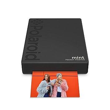 Polaroid Mint Imprimante avec technologie Zink Zero Printer Ink et Bluetooth intégré pour appareils Android et