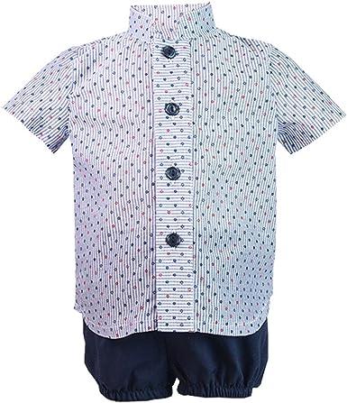 ALBER - Conjunto NIÑO Camisa Y Short bebé-niños: Amazon.es: Ropa y accesorios