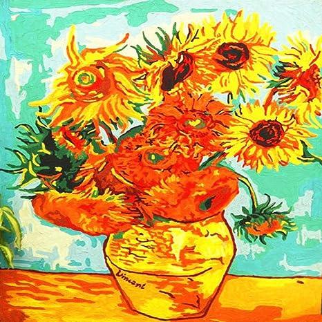 Flor Pintura al óleo decoración Primavera Flor floración 40 ...