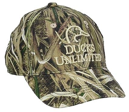 Amazon.com   Outdoor Caps Ducks Unlimited Mossy Oak Shadow Grass ... ef1a84d7a5f