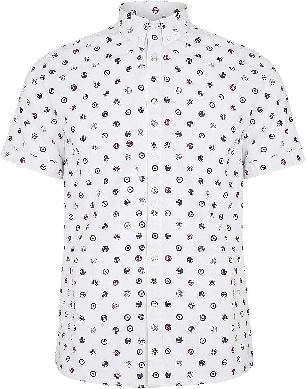Merc - Camiseta de manga corta para hombre, diseño de Londres: Amazon.es: Ropa y accesorios
