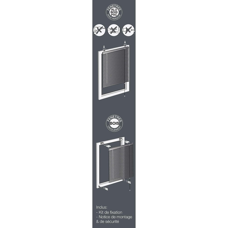 60 x 180 cm store dint/érieur Tenda Veneziana a lamelle in Alluminio Veneziano e Rame