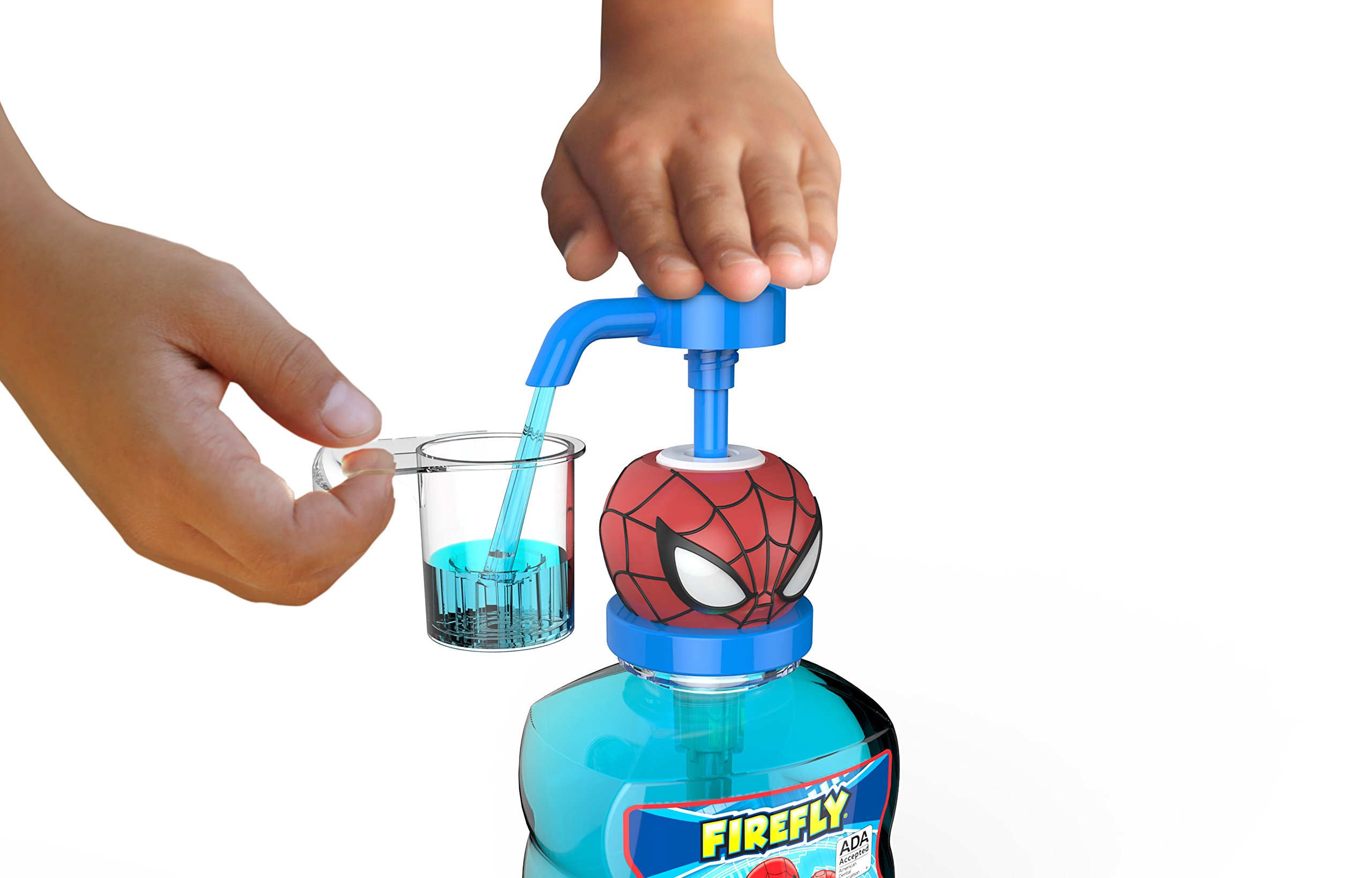 Firefly Spiderman Anticavity Fluoride Rinse, 16 Oz., Pack of 4