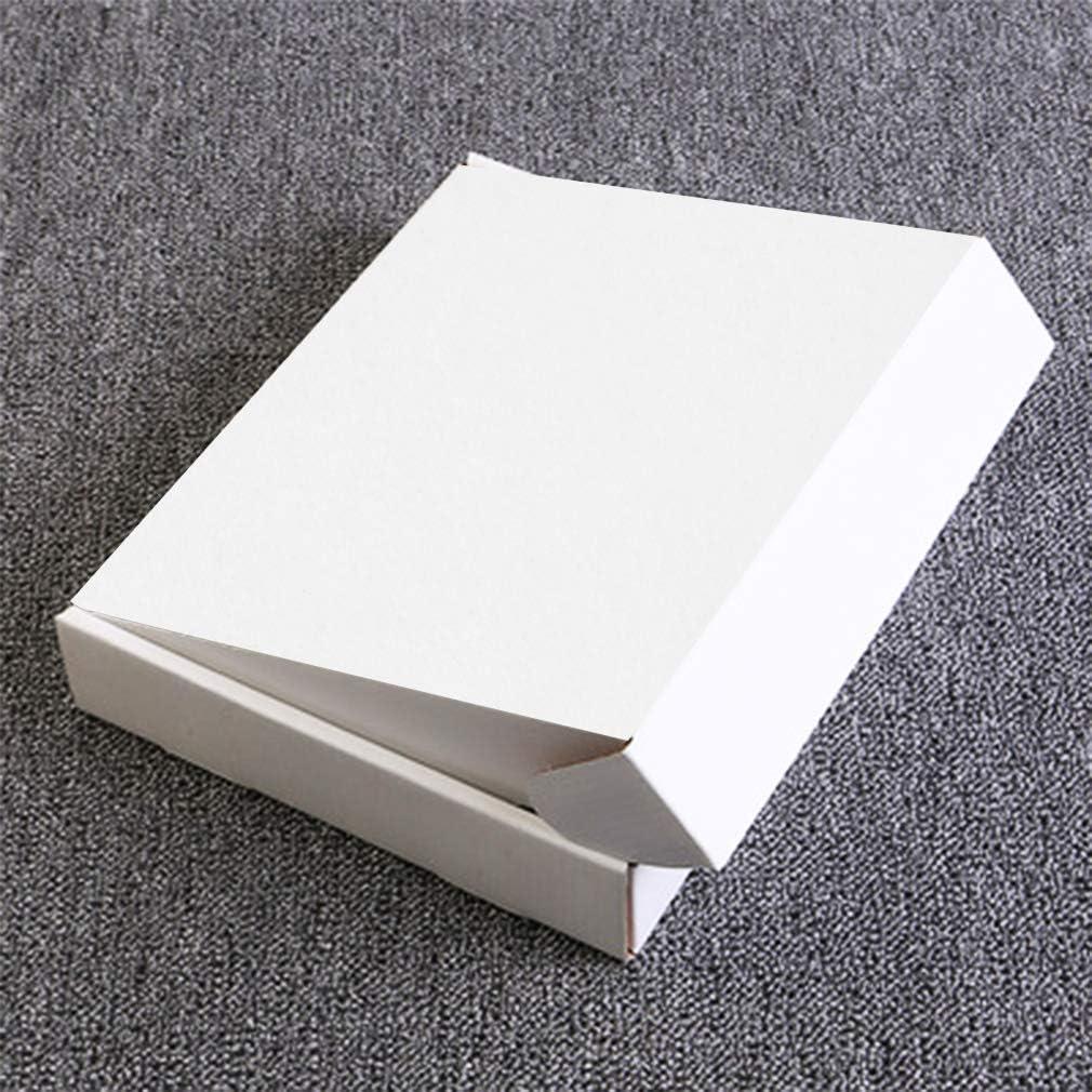 20 St/ück Maxibriefkarton 305x229x76 MM wei/ß Gro/ßbirefkarton f/ür B/üchersendung DIN A4 Geschenk Box
