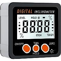 Proster Buscador de Ángulo LCD Inclinómetro Digital