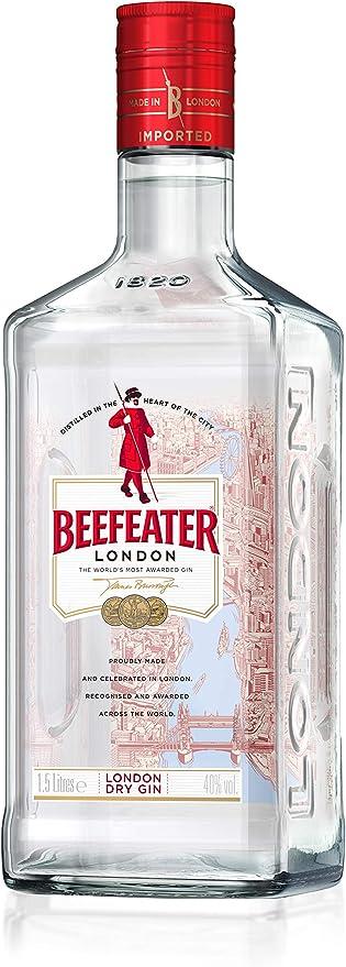 Beefeater London Dry Ginebra, 1.5L: Amazon.es: Alimentación y ...