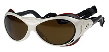 Gafas de Sol Julbo Explorador J326511, Blanco, Cameleon Anti-Niebla Lentes Fotocromáticas Polarizadas