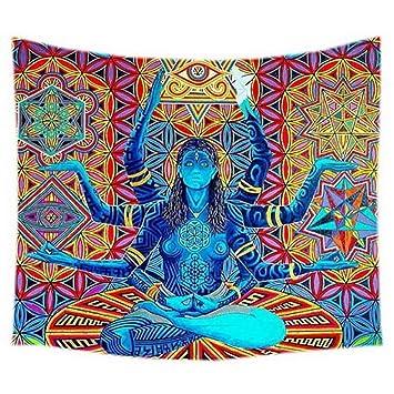 Amazon.com: bjduck99 Indian Mandala Chakra Meditation Yoga ...