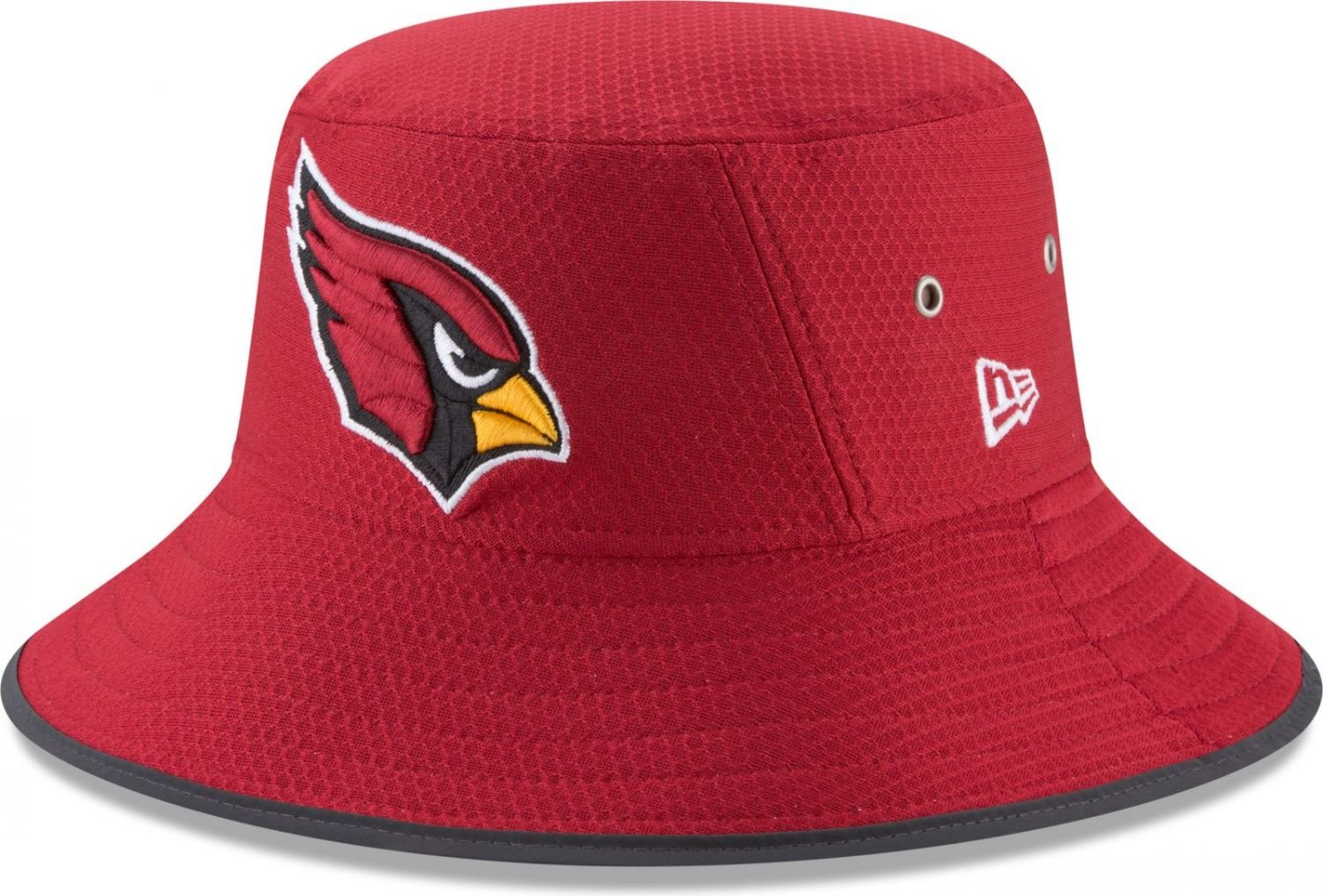 Amazon.com   Arizona Cardinals New Era 2017 Training Camp Official Bucket  Hat - Red   Sports   Outdoors 9bc66768c
