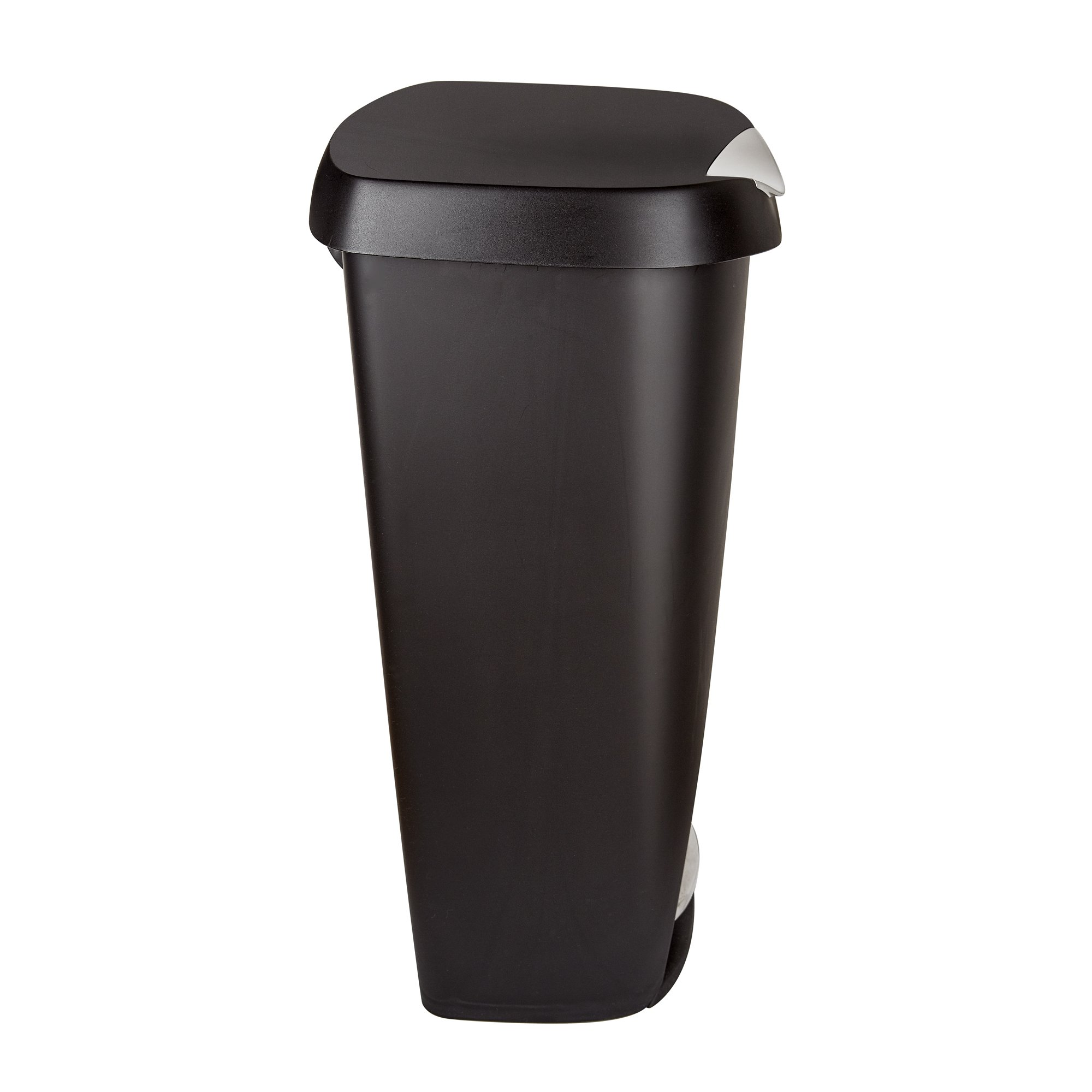 Umbra Brim Large Kitchen Trash Can with Stainless Steel Foot Pedal ...
