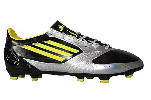 Adidas F30 TRX FG Gris Negro Zapatilla de football para hombre F50: Amazon.es: Zapatos y complementos