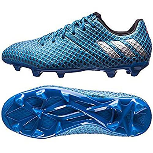 e397a3bc829b Adidas Messi 16.1 FG Kids Soccer Cleat 5.5 Shock Blue-Matte Silver-Black