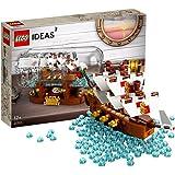 LEGO 乐高  拼插类 玩具  LEGO Ideas  典藏瓶中船 21313(123块)(12岁+)