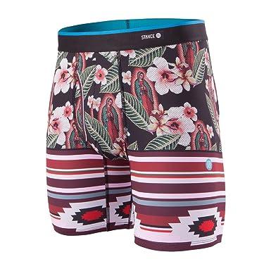 ebaa8278473fee Stance Men's Our Lady Aloha Boxer Underwear Multi-Color S: Amazon.co ...