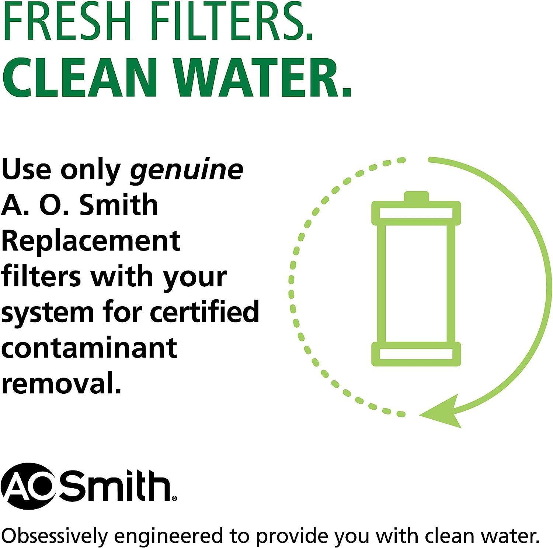 AO Smith Main Faucet Filter Replacement