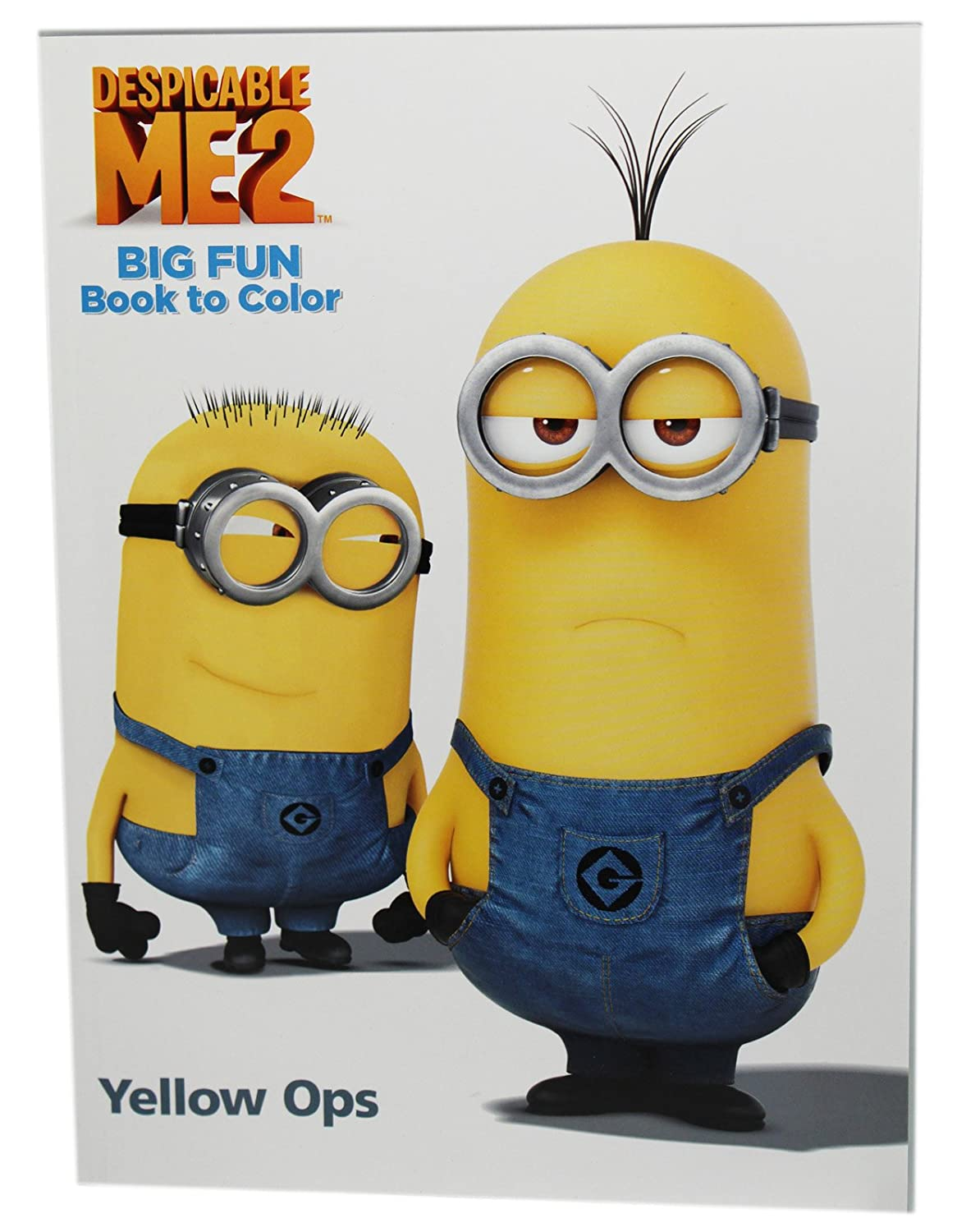 Dispicable Me 2 Big fun Book to Color Yellow Ops Coloring Book 4sg