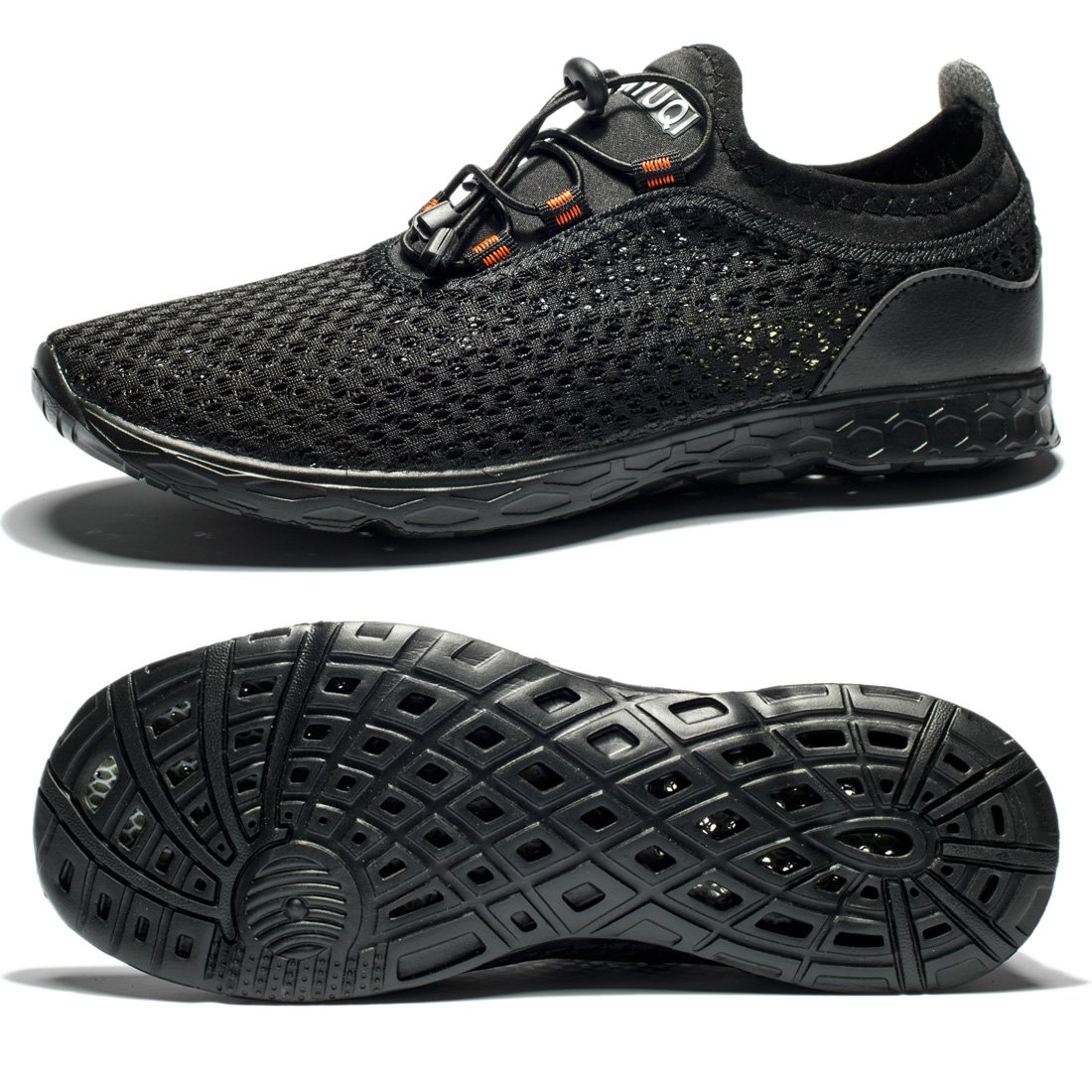 64d906ddc85c Alibress Unisex Water Shoes-Black Quick Dry Sports Aqua Shoes Lightweight  for Swimming Yoga Beach Driving Boating Pool Exercise  Amazon.ca  Shoes    Handbags