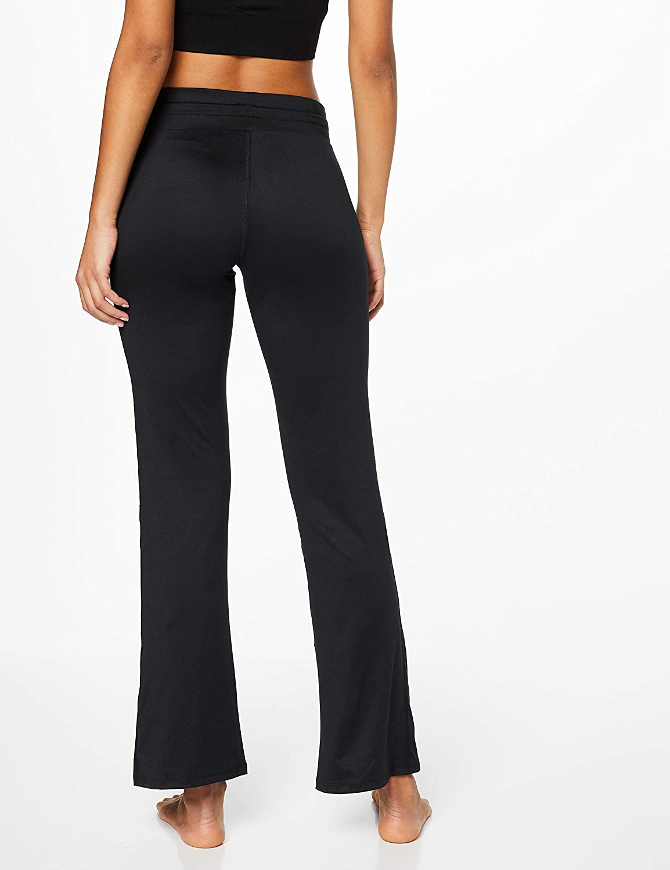 Black Marchio AURIQUE Pantaloni Yoga Donna 46 Nero Label:L