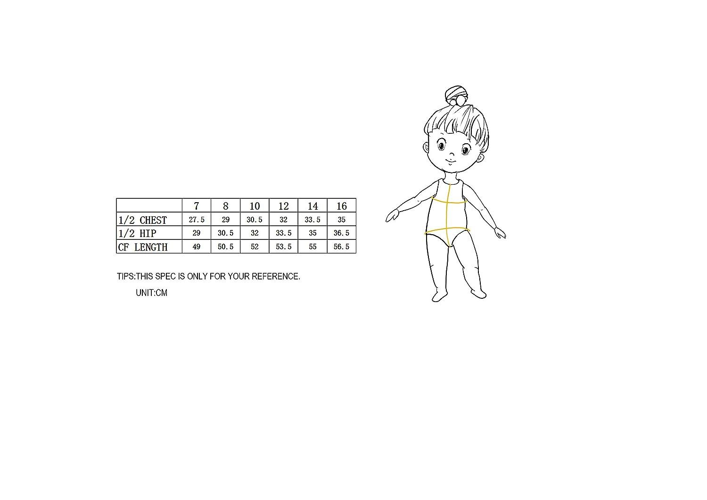 Leotard body da ginnastica e danza per bambine Eono Essentials