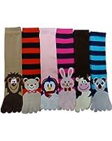 Mopas Women's Animals Toe Socks,size : 9-11