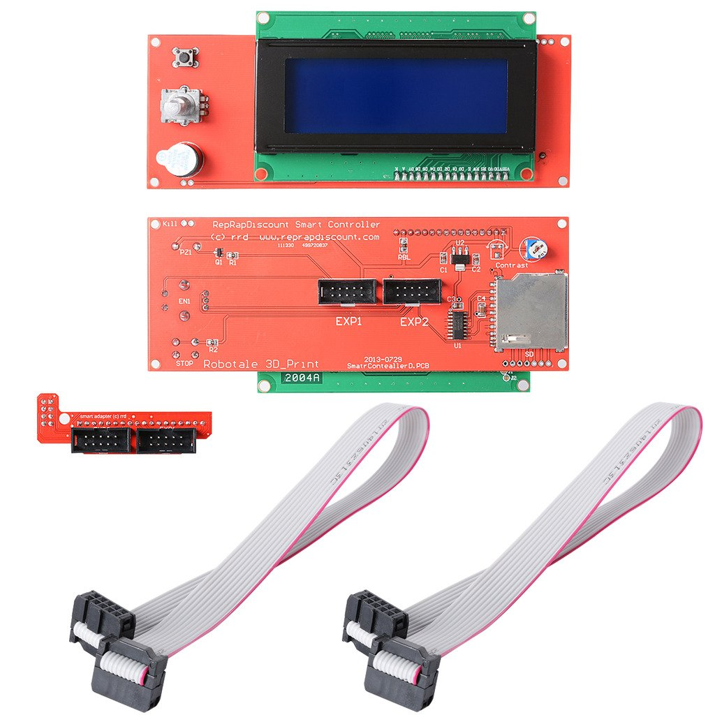 daokai® 2pcs Reprap Ramps 1.4 2004 Pantalla LCD Controlador W ...
