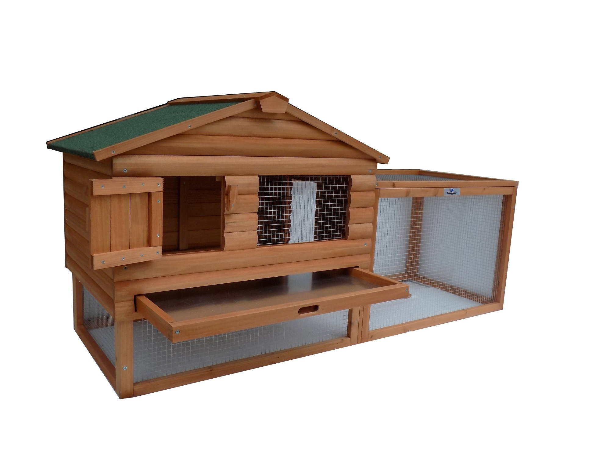 Confidence 62 Inch Rabbit Hutch Chicken Coop by Confidence