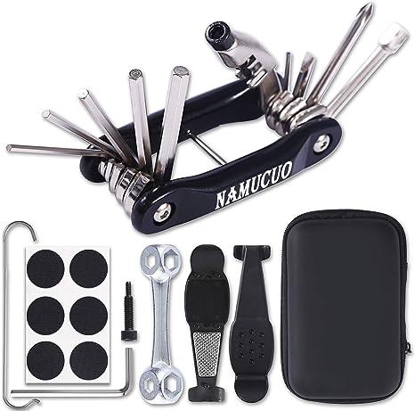 Kit de herramientas para reparación de bicicleta de NAMUCUO con ...