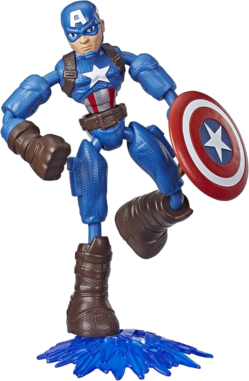 Avengers Figures giocattoli personaggi MARVEL SUPER EROE PERSONAGGI 6 PZ
